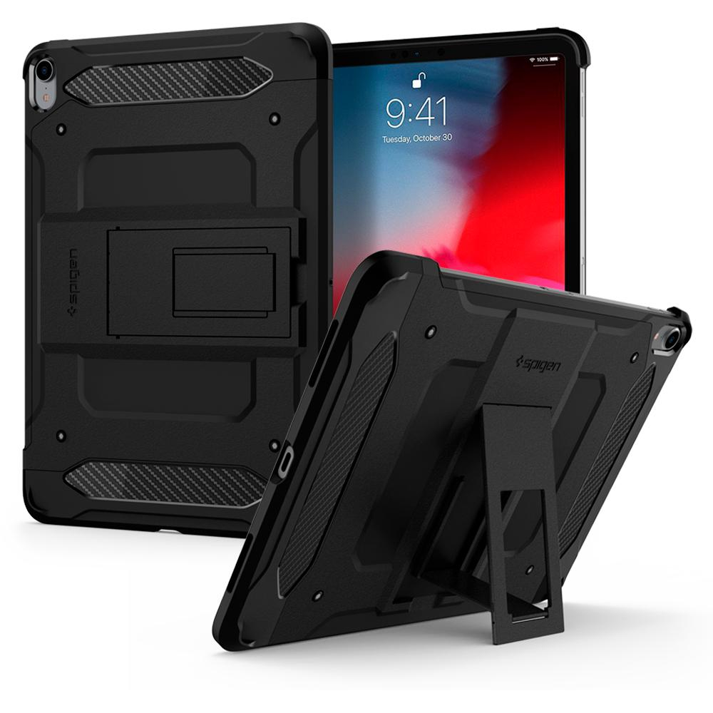"Spigen 068CS25203 tabletbehuizing 32,8 cm (12.9"") Hoes Zwart"
