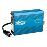 Tripp Lite 375W INT Series Ultra-Compact Car Inverter with 1 Universal 230V 50Hz Outlet
