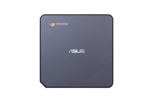 ASUS Chromebox CHROMEBOX3-N041U PC/workstation 7th gen Intel® Core™ i3 i3-7100U 8 GB DDR4-SDRAM 64 GB SSD Black Mini PC