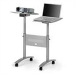 Nobo Multimedia Projection Trolley - Twin Platform