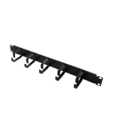 "LogiLink 19"" Cable Management Bar 1U"