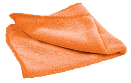 Nobo 1905328 cleaning cloth Microfiber Orange 1 pc(s)