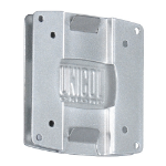 Unicol LVC Silver flat panel wall mount