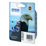 Epson C13T00740310 (T007+T008) Ink cartridge black, 540/220 Seiten, 16ml