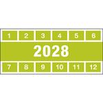 Brady Inspection Date Labels