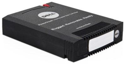 PowerVault Rd1000 Disk Drive Rdx Superspeed USB 3.0 External Black With 1TB Cart