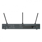 Cisco C897VA-K9 draadloze router Gigabit Ethernet Zwart
