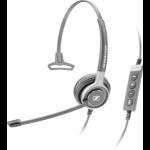 Sennheiser SC 630 USB CTRL Monaural Head-band Black,Silver headset