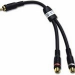 C2G Velocity RCA Plug/RCA Jack X2 Adapter Y-Cable
