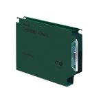 Rexel Crystalfile Classic '330' Lateral File 50mm Green (25)