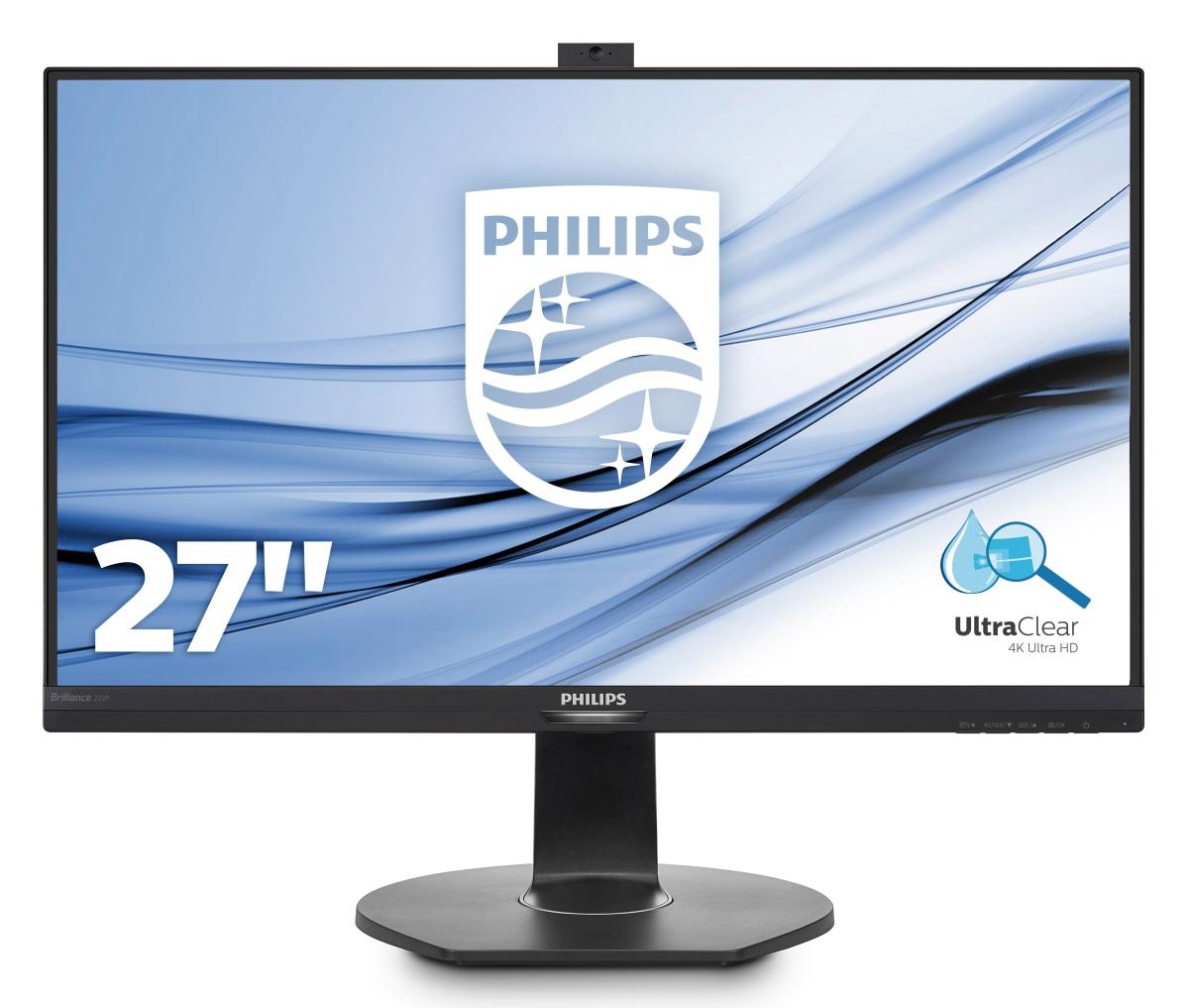 Philips P Line 4K UHD LCD monitor with PowerSensor 272P7VPTKEB/00