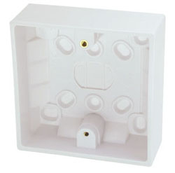 Lindy 73088 outlet box White
