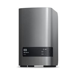 Western Digital My Book Duo 4000GB Silver