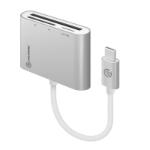 ALOGIC USB-C Multi Card Reader - Micro SD SD & Compact Flash - Prime Series