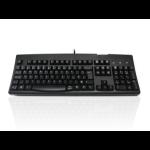 Accuratus 260 Hub keyboard USB Polish Black
