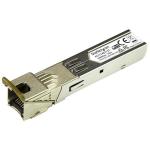 StarTech.com HPE 453154-B21 Compatible SFP Module - 1000BASE-T - SFP to RJ45 Cat6/Cat5e - 1GE Gigabit Ethernet SFP - RJ-45 100m - HPE 6120XG, 6120G, Flex Fabric