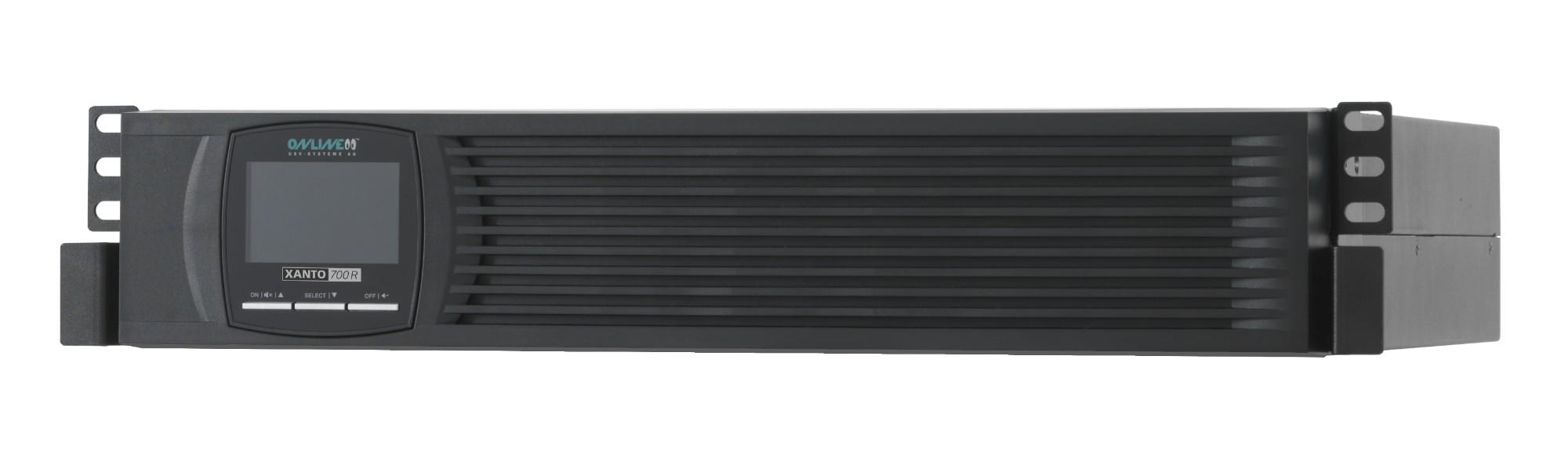 ONLINE USV-Systeme XANTO 700R uninterruptible power supply (UPS) Double-conversion (Online) 700 VA 7