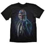 PAYDAY 2 Men's Dallas Rock On T-Shirt, Small, Black (GE1726S)