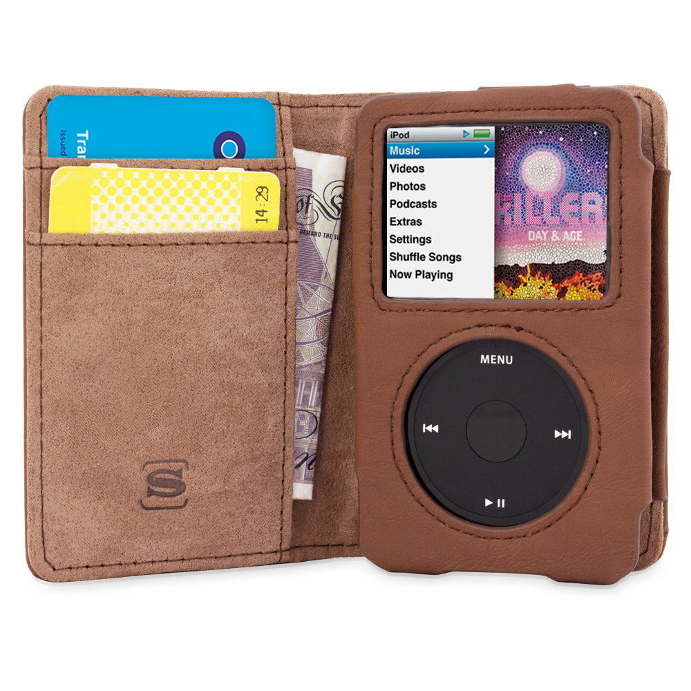 TheSnugg B00U8S32YA Wallet case Brown MP3/MP4 player case