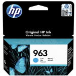 HP 3JA23AE#301 (963) Ink cartridge cyan, 700 pages, 11ml