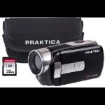 Praktica Z160IR Infra-Red WI-FI Camcorder inc 32GB SD Card & Case - Black