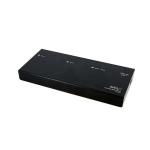StarTech.com 2 Port DVI Video Splitter with Audio