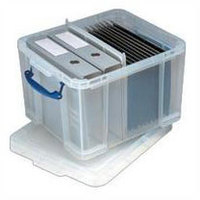 REALUSE REALLY USEFUL 42 LITRE BOX AND LIDCLR
