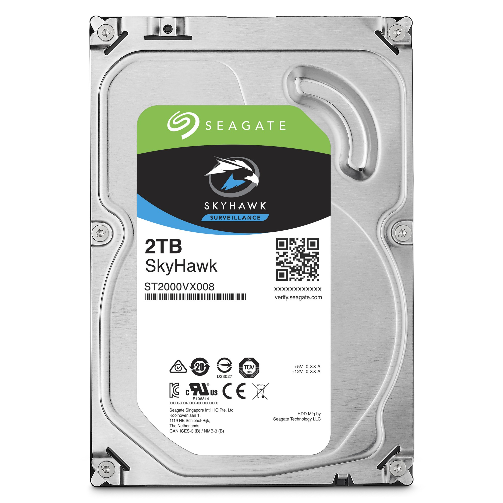 Seagate Surveillance HDD SkyHawk 2TB 2000GB Serial ATA III internal hard drive