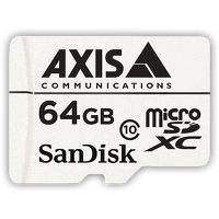 Axis Companion Card 64 GB 64GB MicroSDXC Class 10 memory card