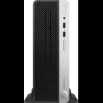 HP ProDesk 400 G5 8th gen Intel® Core™ i7 i7-8700 8 GB DDR4-SDRAM 1000 GB HDD Black,Silver SFF PC