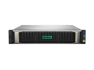 Hewlett Packard Enterprise MSA 2052 SAN Dual Controller SFF disk array 1.6 TB Rack (2U) Black,Silver