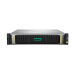 Hewlett Packard Enterprise MSA 2052 SAN Dual Controller SFF Rack (2U) Black,Silver disk array