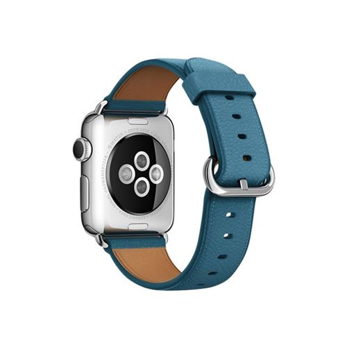 Apple 38mm Classic Buckle - Watch strap - Marine Blue - for Watch (38 mm), Watch Edition (38 mm), Watch He