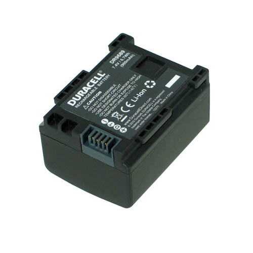 Duracell Camcorder Battery 7.4v 900mAh 6.7Wh