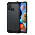 "Spigen ACS00977 mobiele telefoon behuizingen 16,5 cm (6.5"") Hoes Zwart"