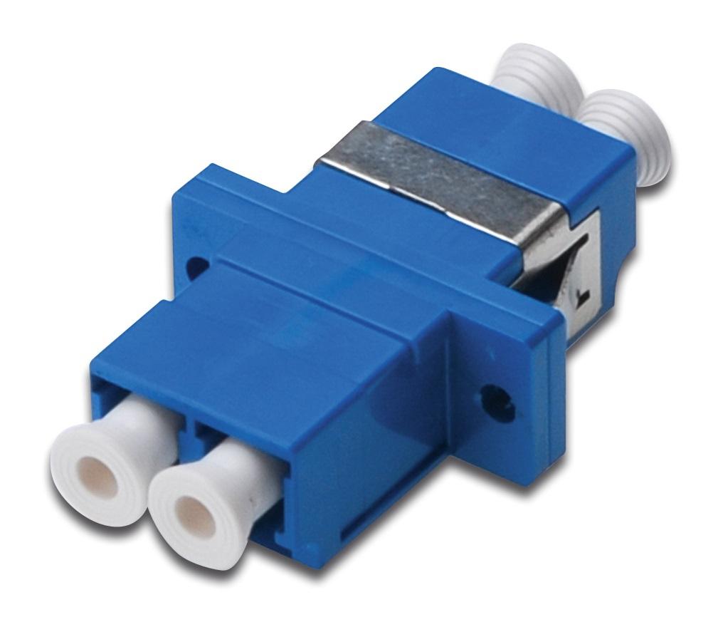 Digitus DN-96007-1 LC 1pc(s) Blue fiber optic adapter