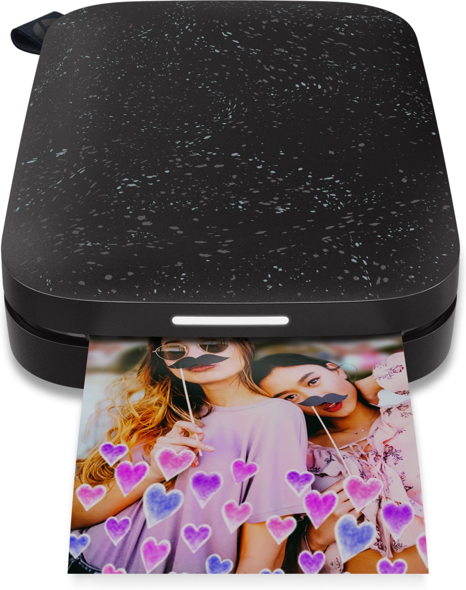 HP Sprocket 200 Printer Bundle Noir inkjet printer