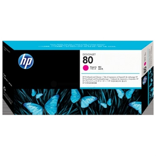 HP C4822A (80) Printhead magenta, 2.5K pages, 17ml