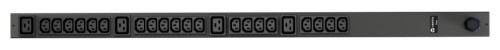 Vertiv Geist rPDU, basic, 0U, input IEC60309 230V 16A, outputs (20)C13 | (4)C19 power distribution unit (PDU) Black 24 AC outlet(s)