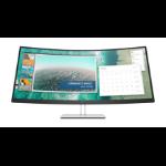 "HP E344c computer monitor 34"" 3440 x 1440 pixels WQHD Curved Silver"