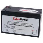 CYBERPOWER SYSTEMS U UPS RPLMNT BATT CART 12V 9AH 18M WTY.