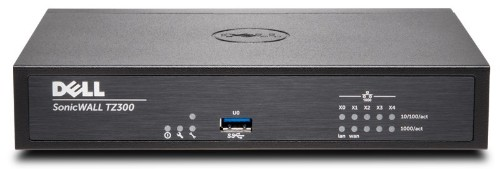 SonicWall TZ300 hardware firewall 750 Mbit/s