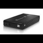 "Dynamode USB-HD3.5S-BN 3.5"" USB powered Black HDD/SSD enclosure"