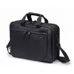 "Dicota D30925 15.6"" Briefcase Black notebook case"