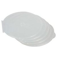 Round Slim Cd Case 5pk Clear (9834201)