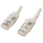 StarTech.com N6PATC7MWH netwerkkabel 7 m Cat6 U/UTP (UTP) Wit