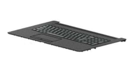 HP L22750-A41 notebook spare part Housing base + keyboard