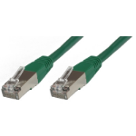 Microconnect SSTP60025G 0.25m Cat6 S/FTP (S-STP) Green networking cable