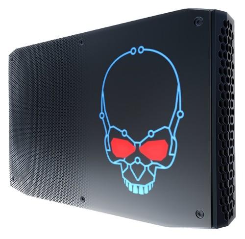 Intel NUC BOXNUC8I7HVK2 PC/workstation barebone i7-8809G 3.1 GHz 1.2L sized PC Black BGA 2270