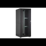 Digitus DN-19 SRV-42U-8-B rack cabinet Freestanding rack Black
